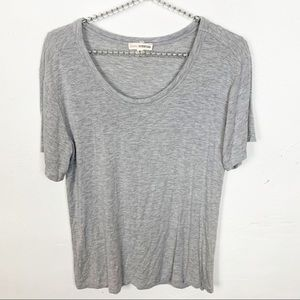Zenana Outfitters l Grey Crew Neck T-shirt